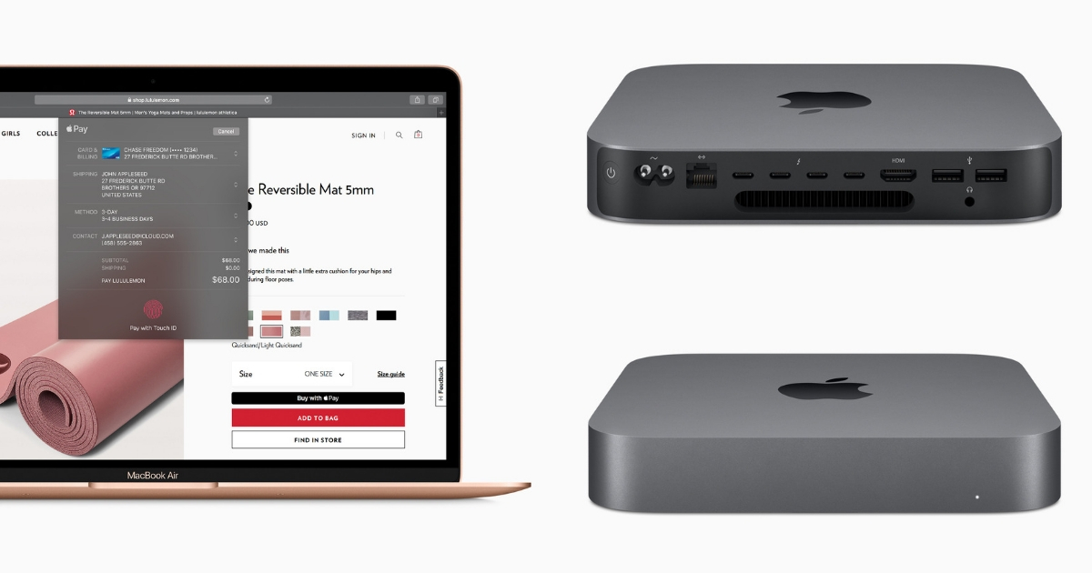 New MacBook Air + Mac Mini (2018)
